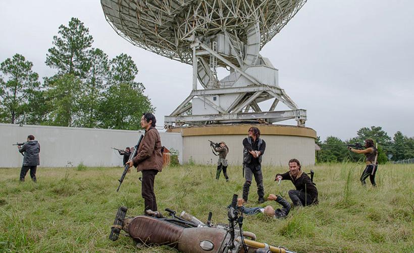 The Walking Dead: una foto degli ultimi minuti dell'episodio Not Tomorrow Yet