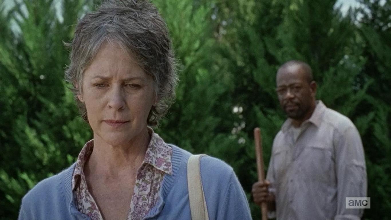 The Walking Dead: Melissa McBride e Lennie James in Not Tomorrow Yet