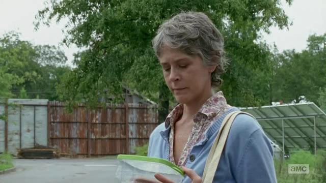 The Walking Dead: Melissa McBride in un'immagine tratta da Not Tomorrow Yet