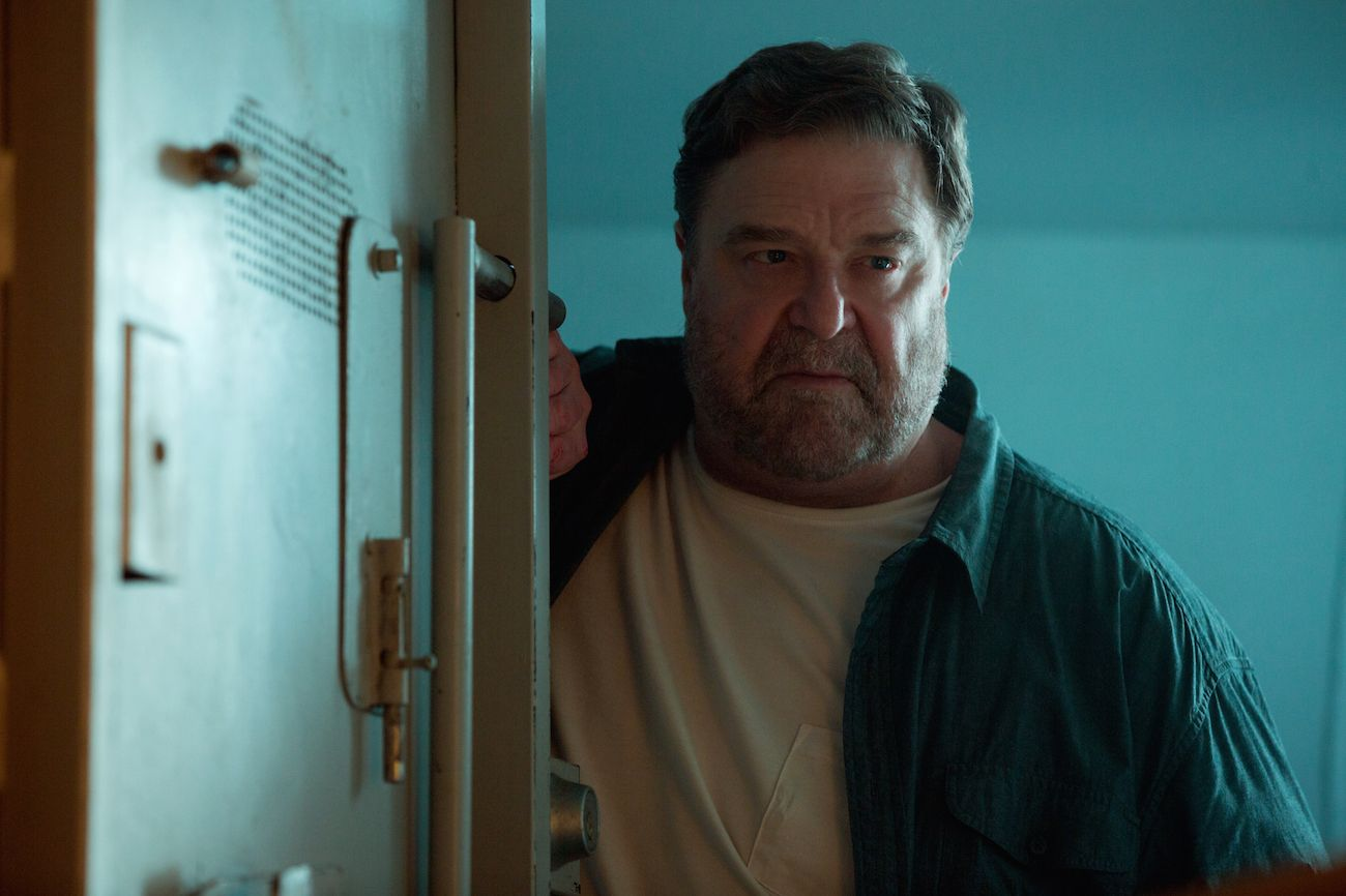 10 Cloverfield Lane: John Goodman in un momento del film