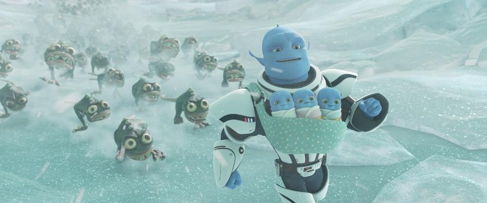Fuga dal pianeta Terra: un momento del film d'animazione