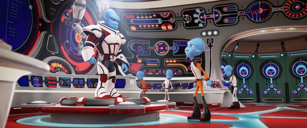 Fuga dal pianeta Terra: un'immagine tratta dal film d'animazione