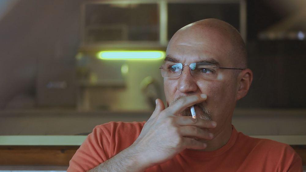 La linea sottile: un momento del documentario