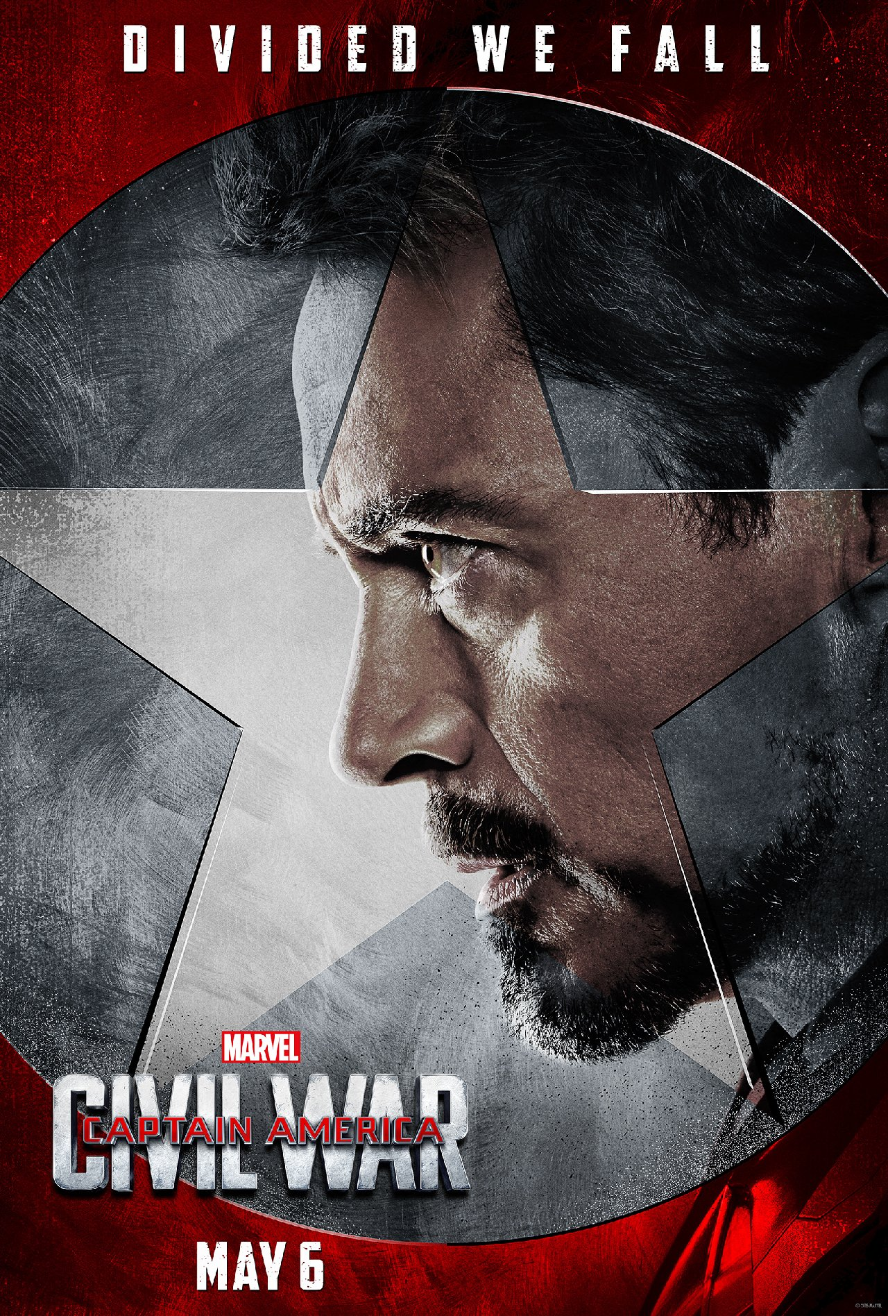 Captain America: Civil War - Il character poster di Iron Man