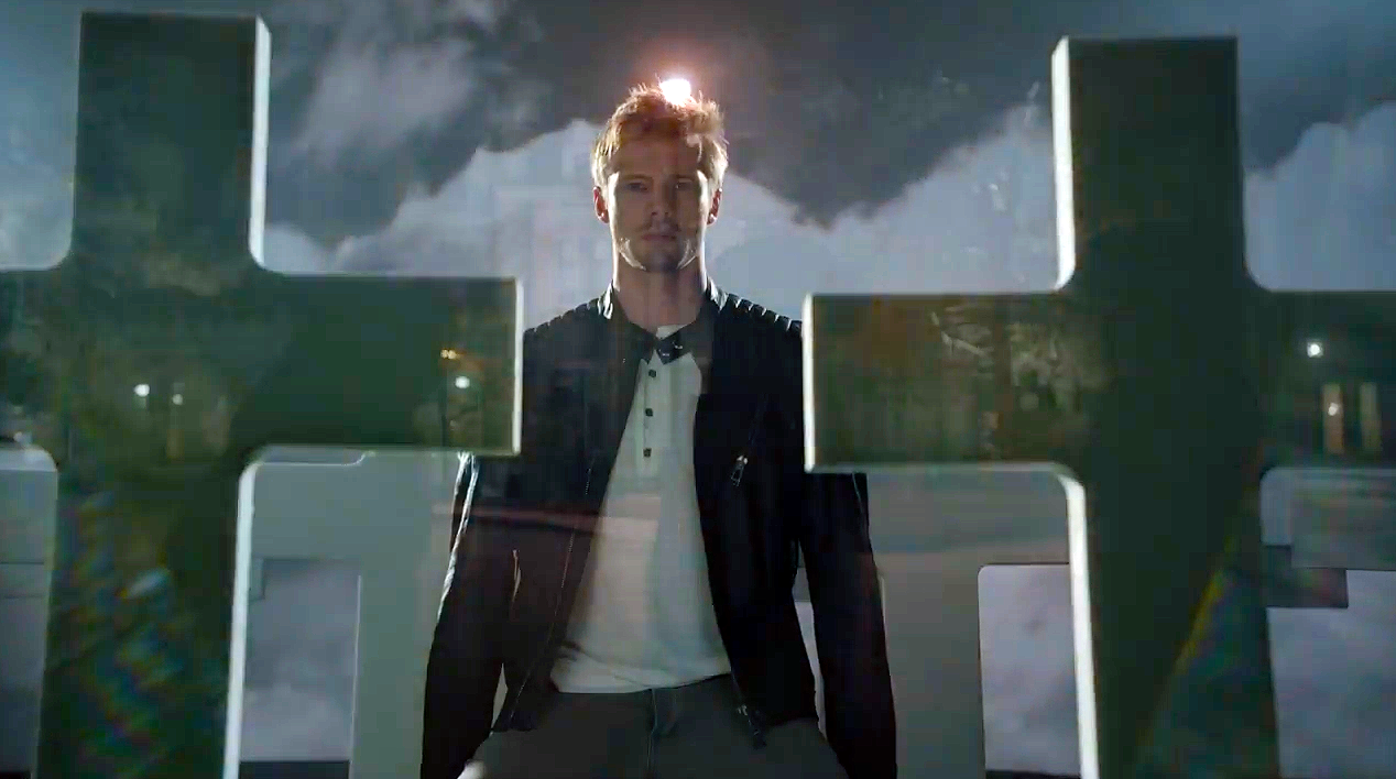 Damien: Bradley James in una foto promozionale della serie