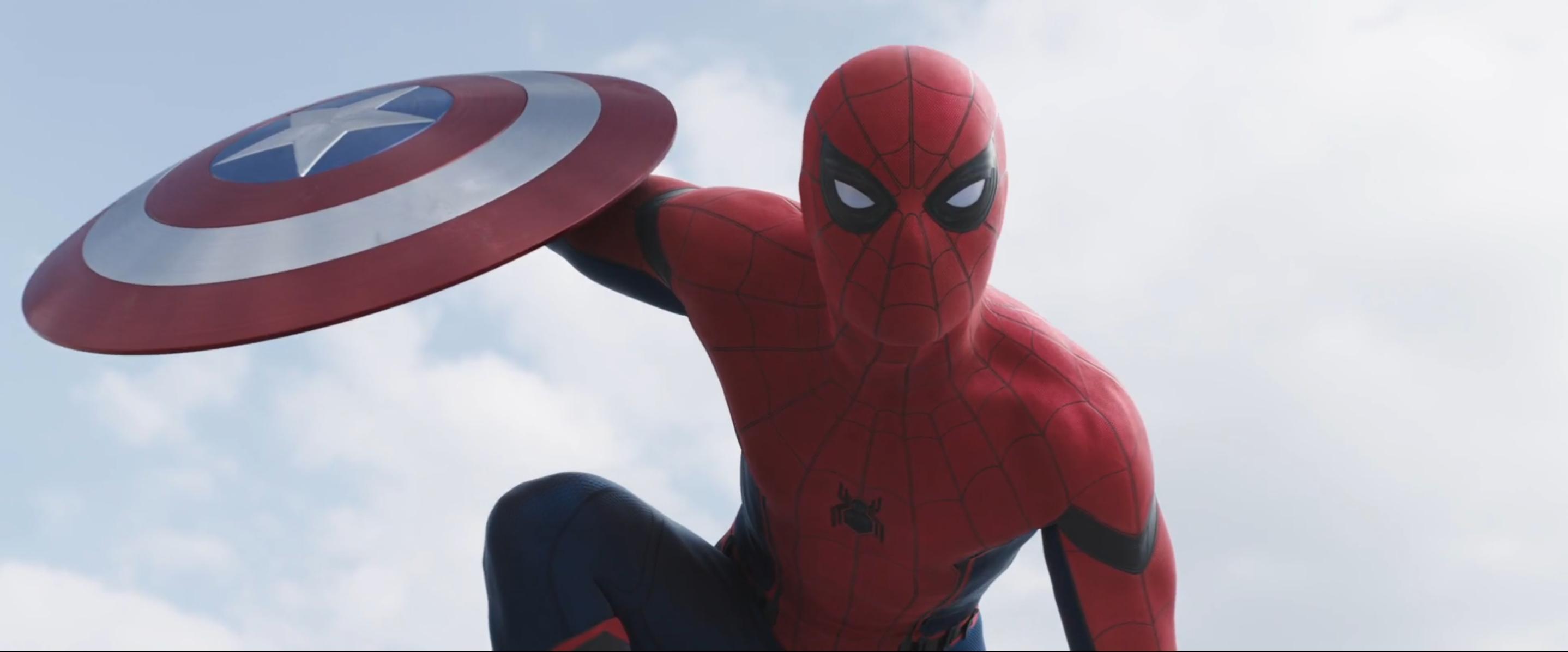 Captain America: Civil War: Spider-Man nel trailer 2 del film