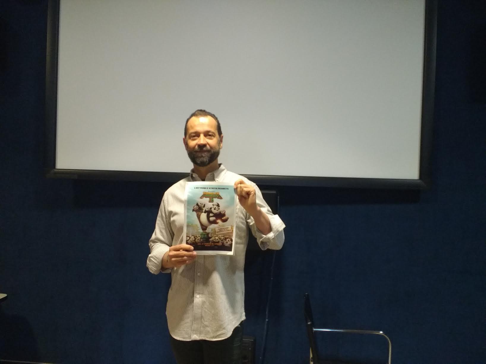 Kung Fu Panda 3: il doppiatore Fabio Volo alla presentazione romana del film