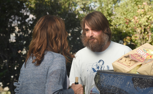 The Last Man on Earth: Will Forte in una foto dell'episodio A piccoli passi