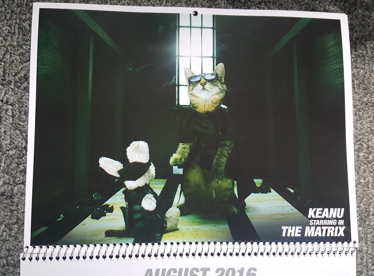 Keanu: un'immagine ispirata a Matrix