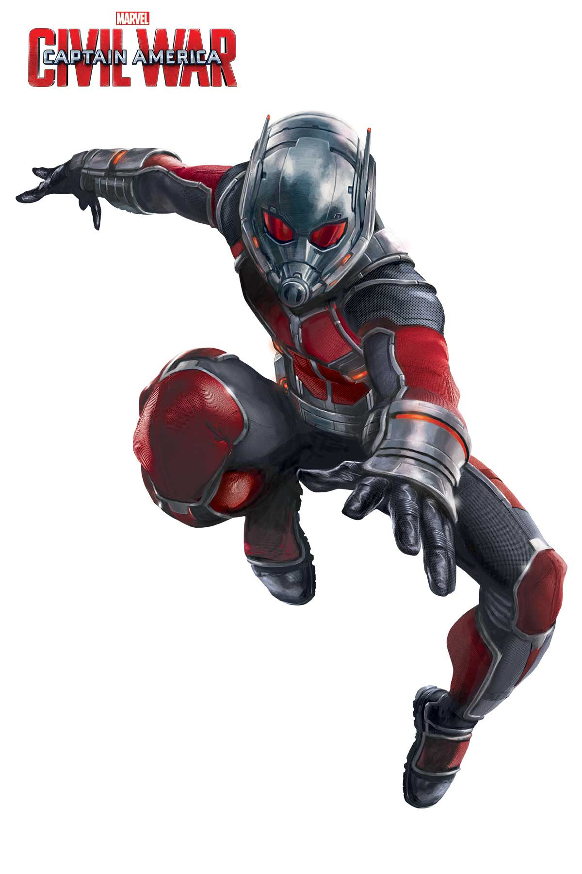 Captain America: Civil War - Una foto promozionale di Antman
