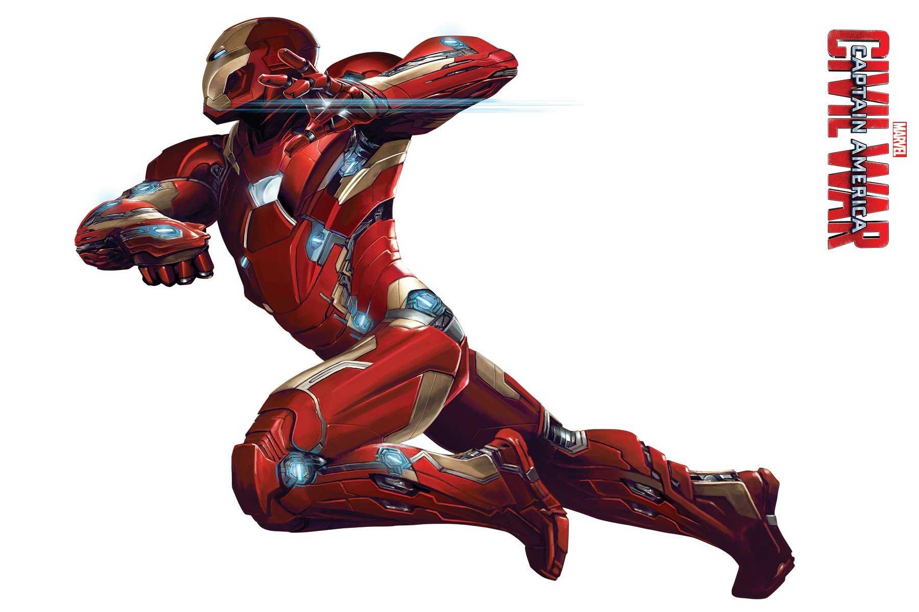 Captain America: Civil War - Un'immagine di Iron Man