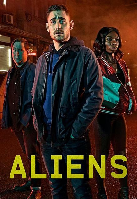 The Aliens: la locandina della serie