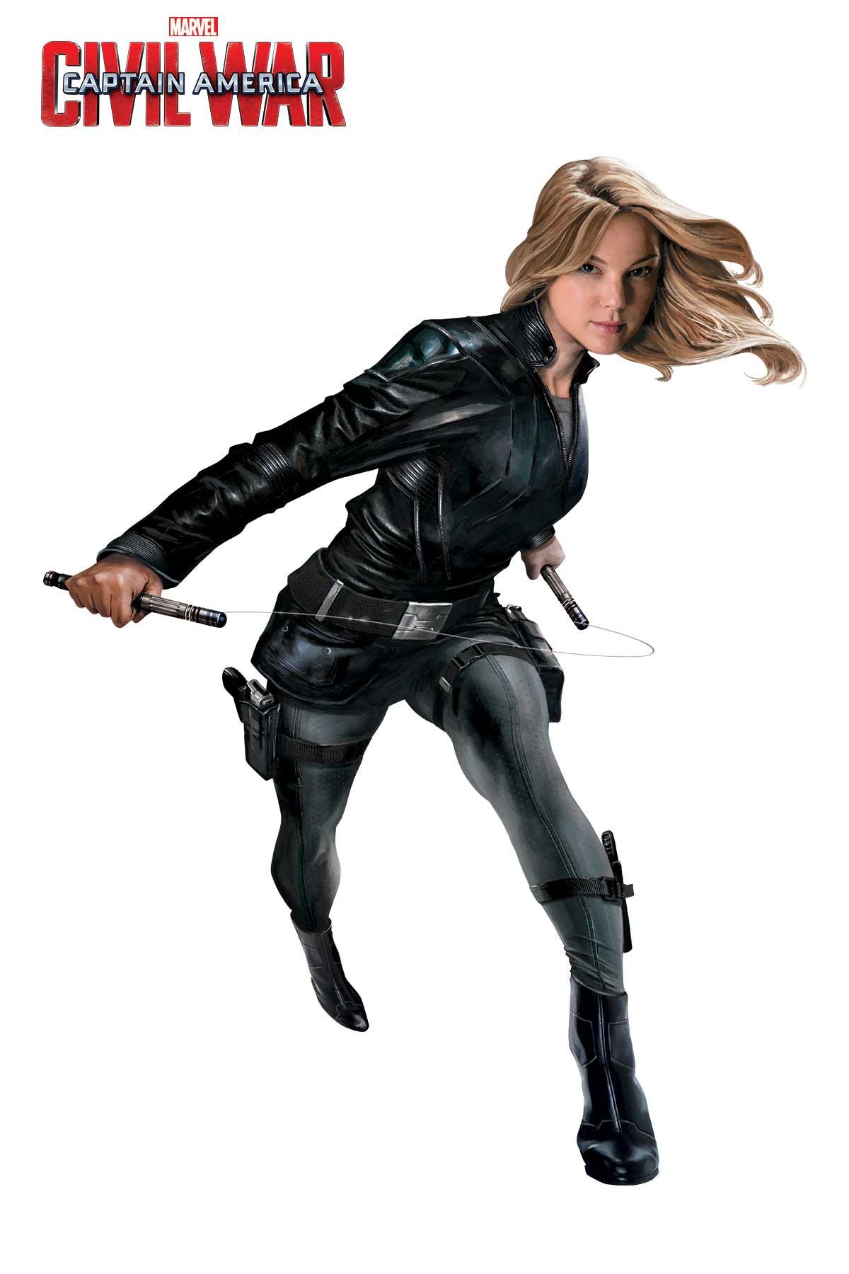 Captain America: Civil War - Una foto promozionale di Agent 13