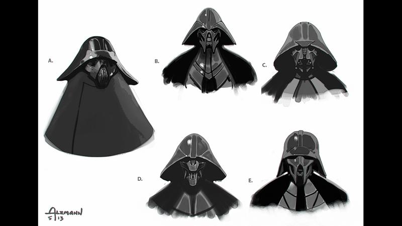 Star Wars: Il Risveglio della Foza - Un concept art dedicato a Kylo Ren