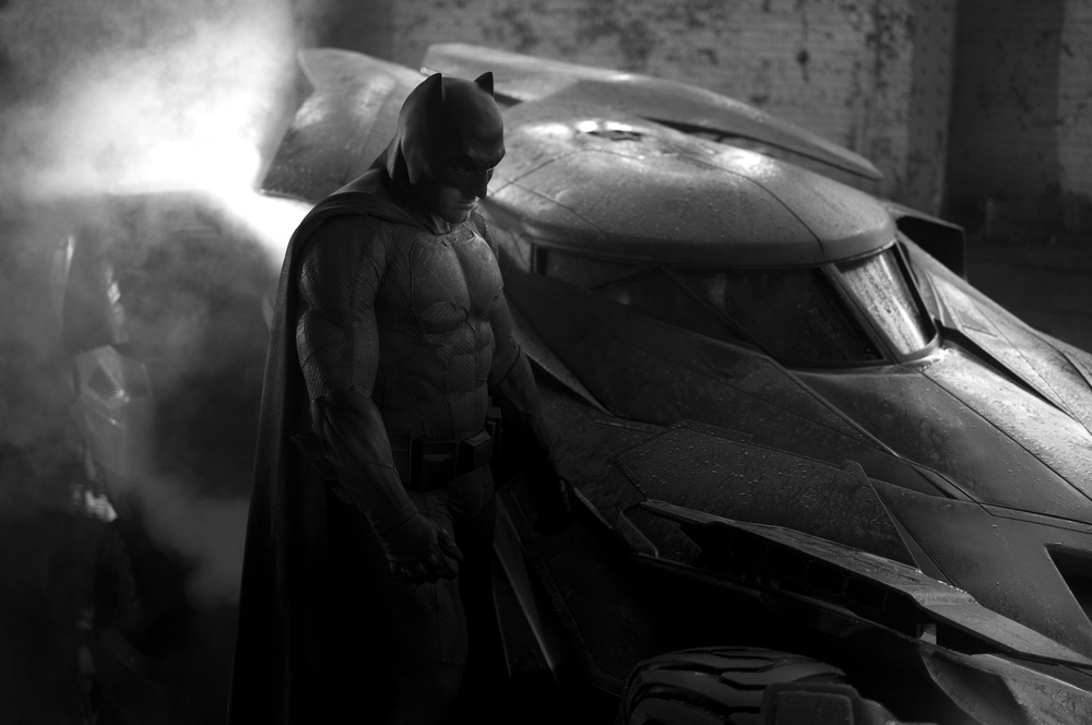 Batman v Superman: Dawn of Justice, Ben Affleck in un momento del film