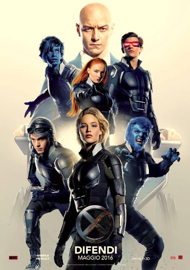 X-Men: Apocalisse, un nuovo poster italiano