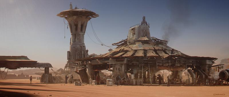 Star Wars: Il Risveglio della Foza - Un bellissimo concept art della ILM