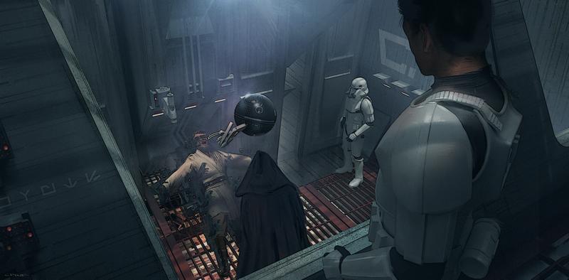 Star Wars: Il Risveglio della Foza - Un concept art diffuso dalla ILM