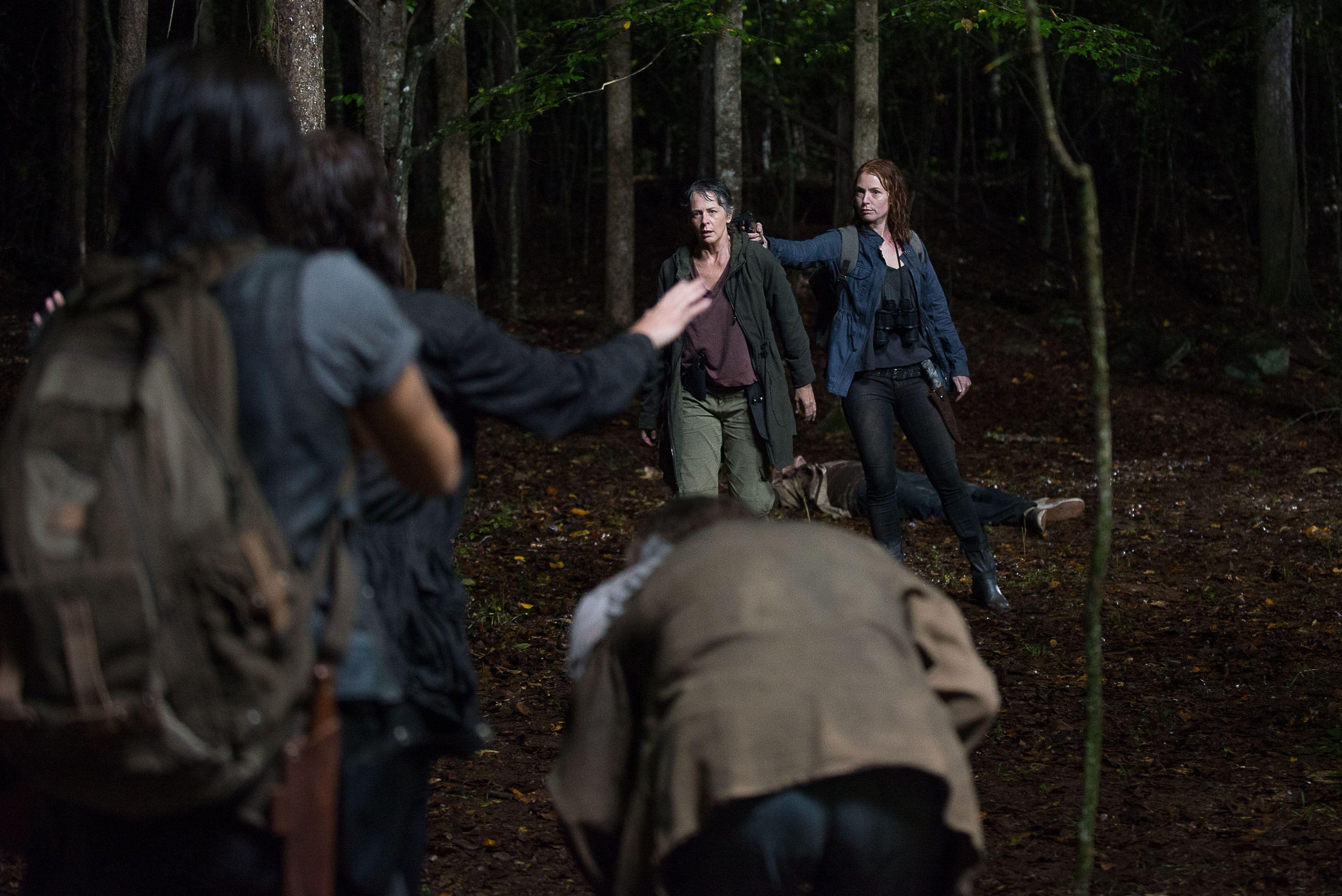 The Walking Dead: Melissa McBride e Alicia Witt in  Nella stessa barca