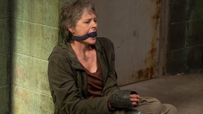 The Walking Dead: l'attrice Melissa McBride interpreta Carol in Nella stessa barca