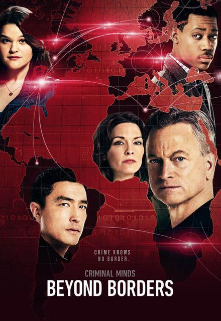 Criminal Minds Beyond Borders: la locandina della serie