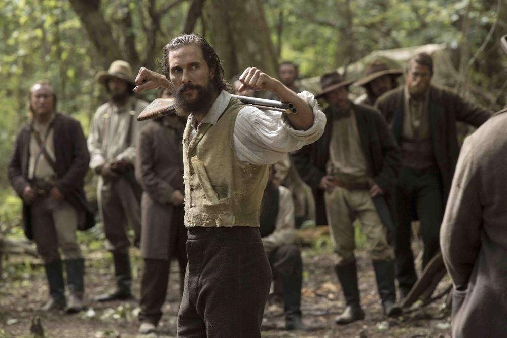 Free State of Jones: Matthew McConaughey in una scena del film