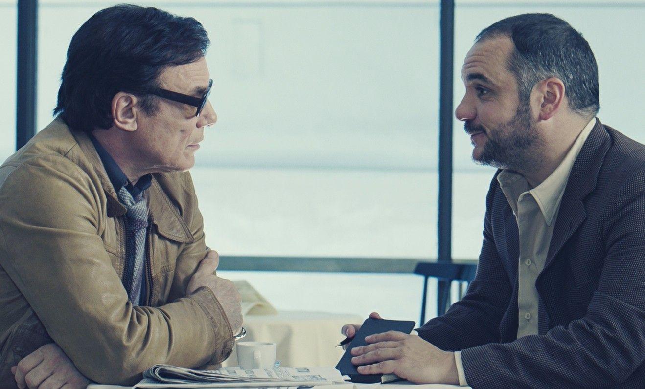 La macchinazione: Massimo Ranieri e François-Xavier Demaison in una scena del film