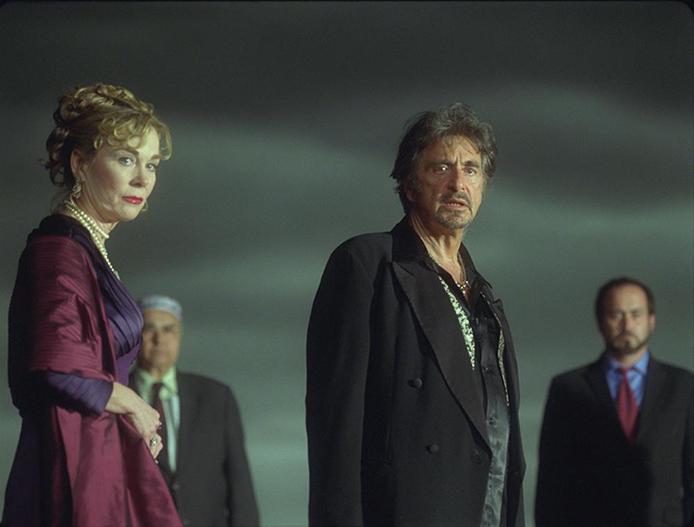 Salomé: Al Pacino e Roxanne Hart in una scena del film
