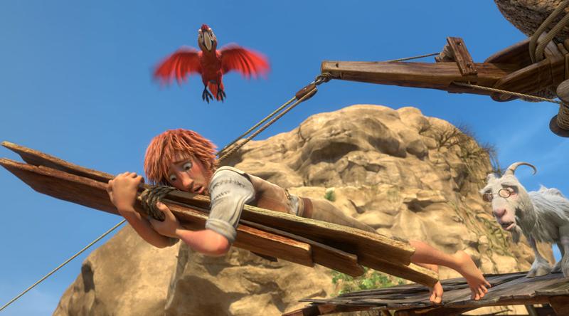 The Wild Life: Robinson Crusoe in una foto del film