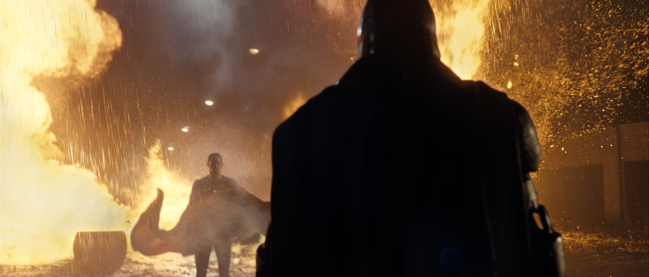 Batman v Superman: un'immagine dello scontro tra Batman e Superman