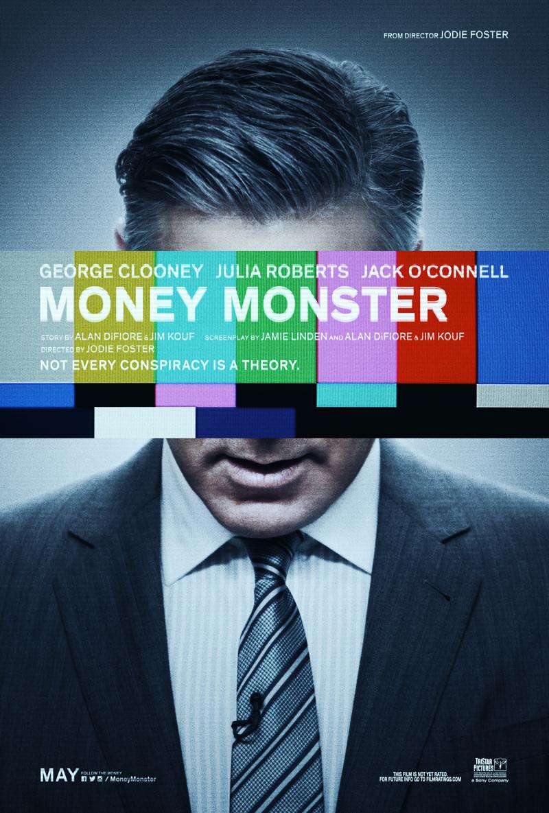 Money Monster: la locandina ufficiale del film