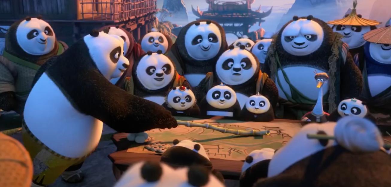 Kung Fu Panda 3: un immagine tratta dal trailer