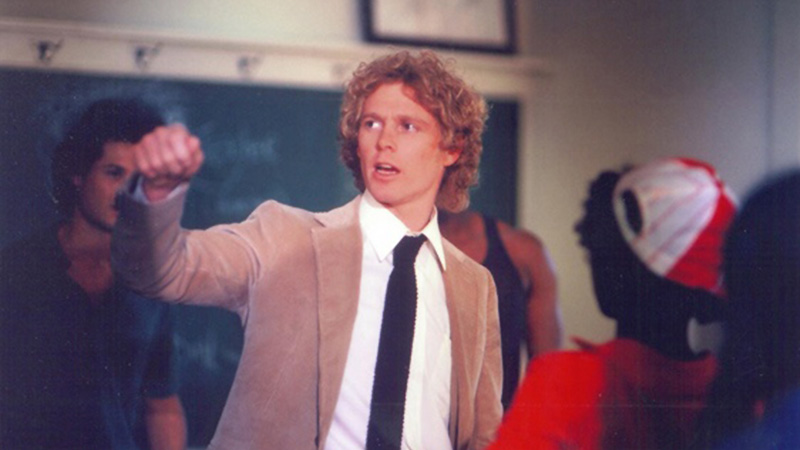 Ralph supermaxieroe: William Katt in un episodio della serie