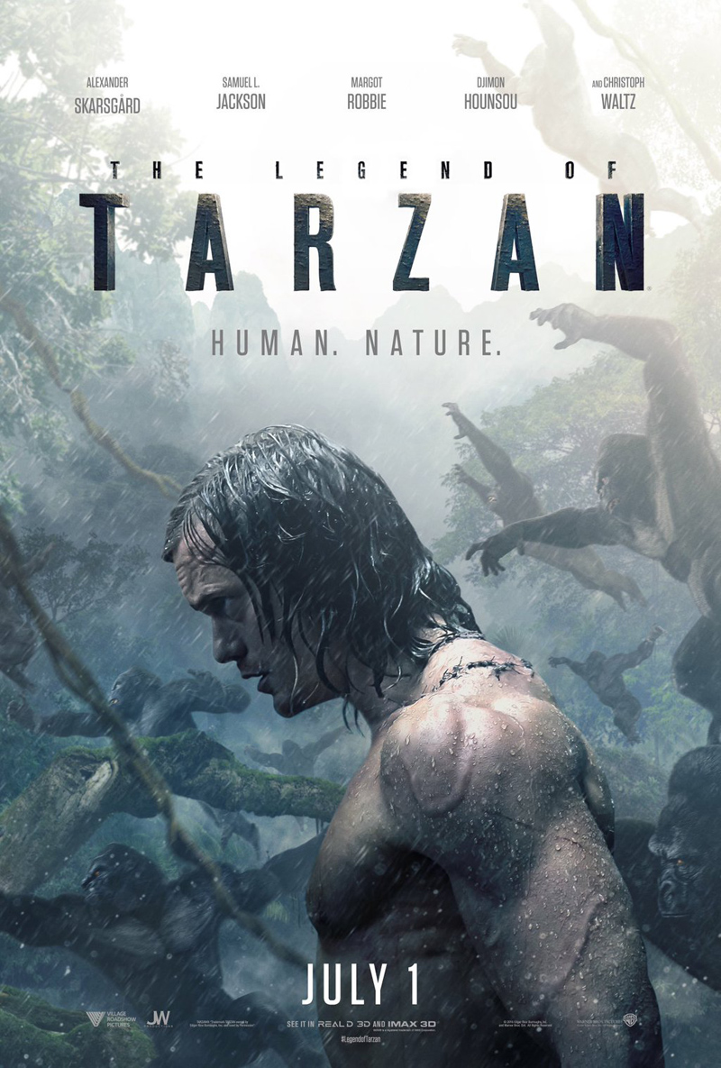 The Legend of Tarzan: un poster del film