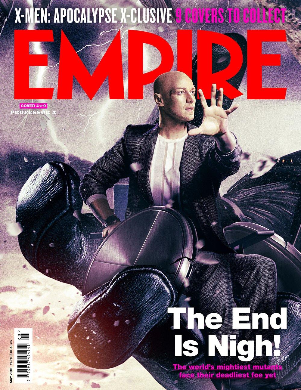 X-Men: Apocalisse - Una delle copertine del magazine Empire