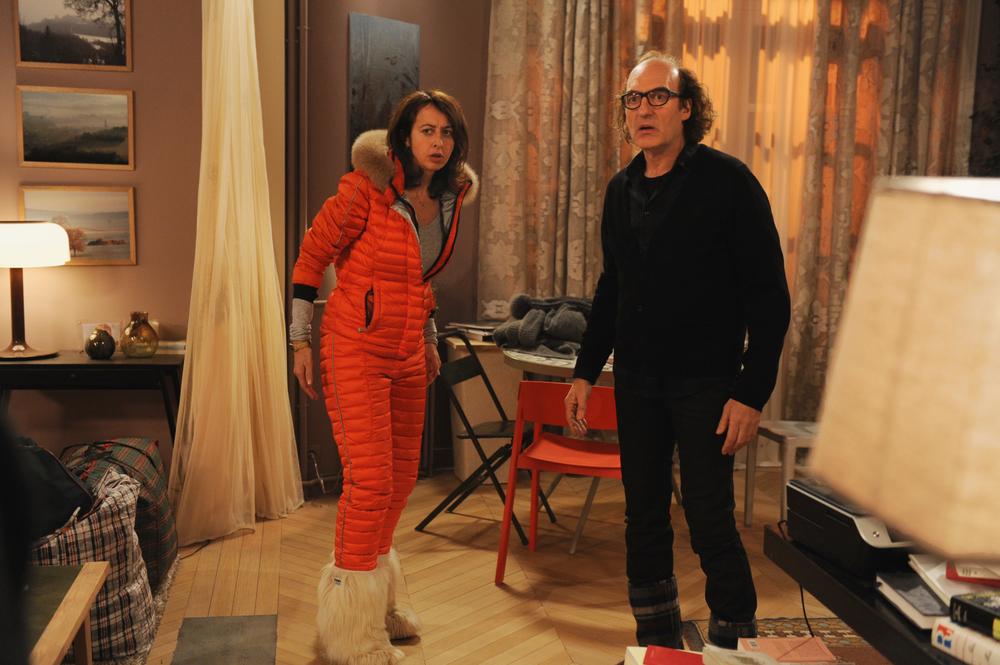 Benvenuti... ma non troppo: Valérie Bonneton e Michel Vuillermoz in una scena del film