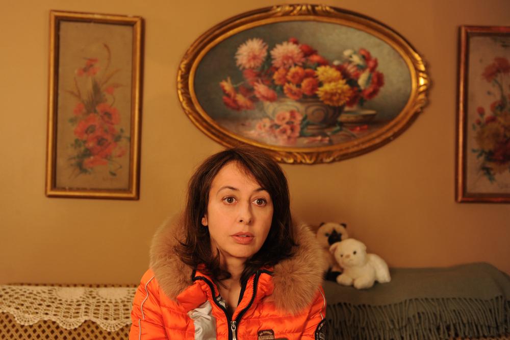 Benvenuti... ma non troppo: Valérie Bonneton in una scena del film