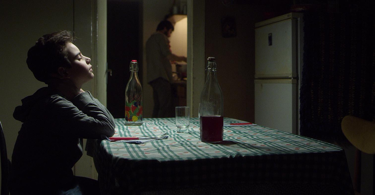 Il bambino di vetro: Vincenzo Ragusa in una scena del film