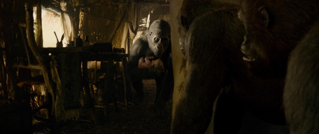 The Legend of Tarzan: una scena del film
