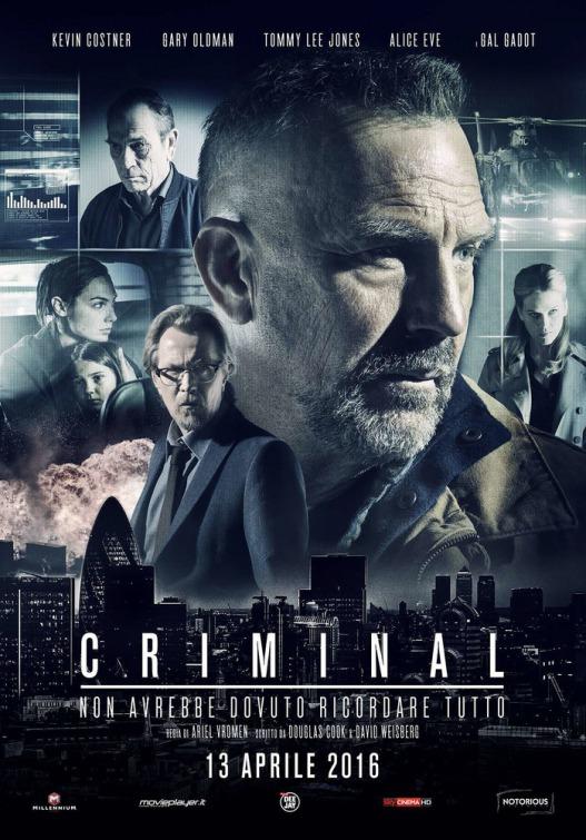 Criminal: la locandina italiana