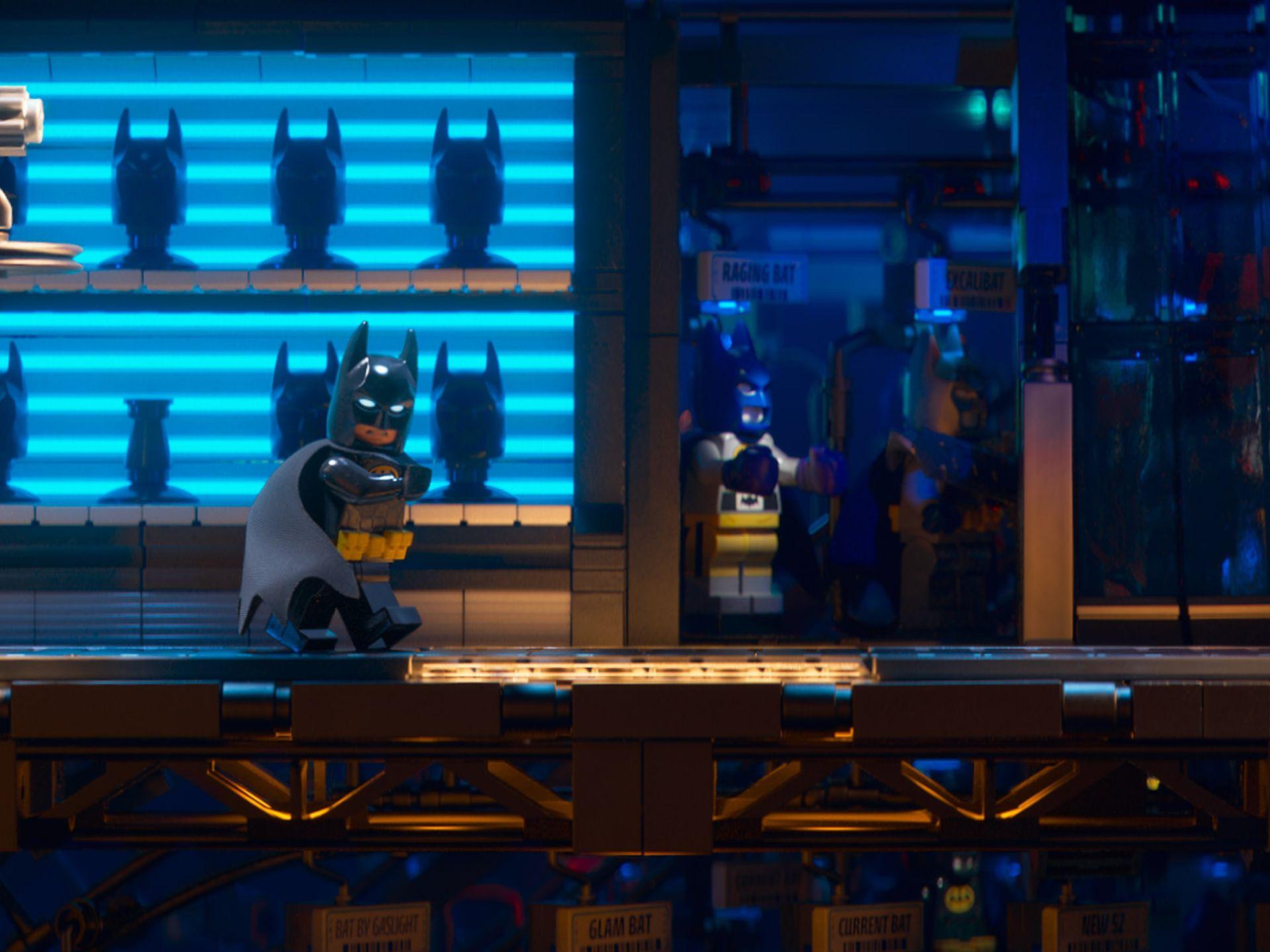 The Lego Batman Movie: Batman in una foto del film