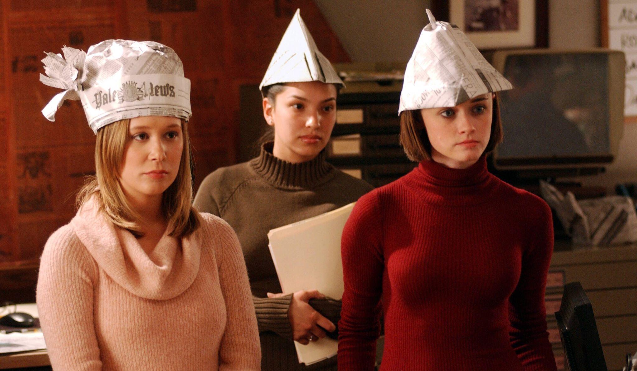 Gilmore Girls: Alexis Bledel con Liza Weil in una scena