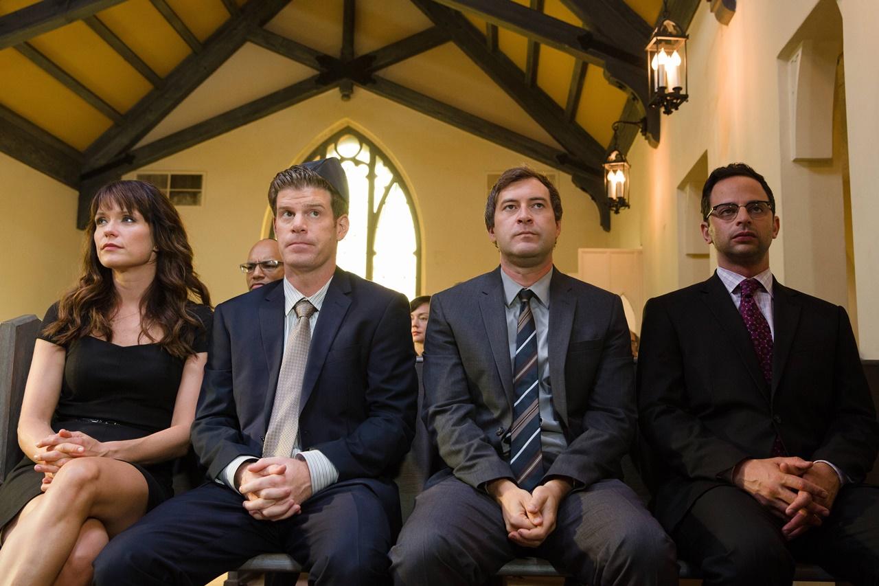 The League:i protagonisti nell'episodio intitolato Sitting Shiva