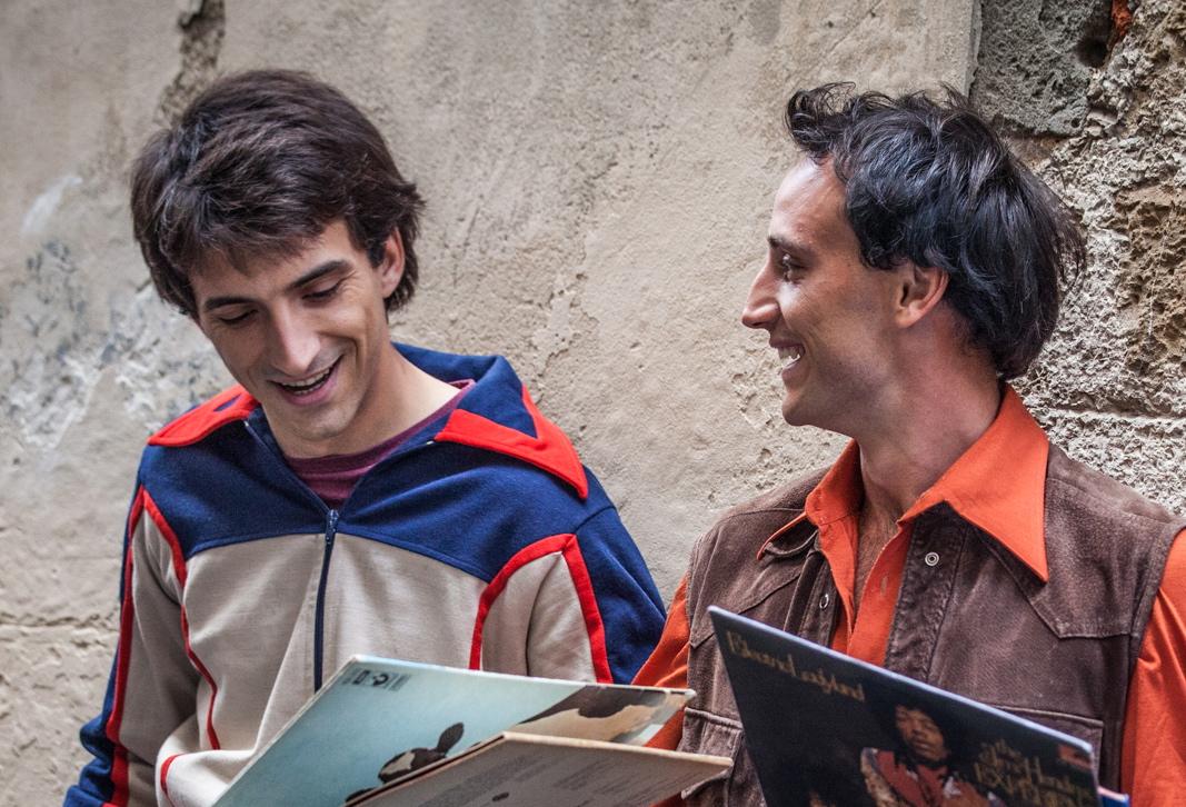 L'Universale: Francesco Turbanti e Robin Mugnaini in una scena del film