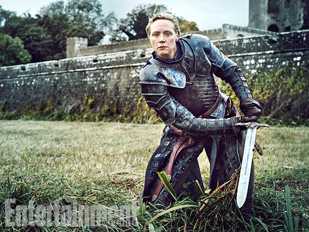 Il trono di spade: Gwendoline Christie in un ritratto realizzato per Entertainment Weekly