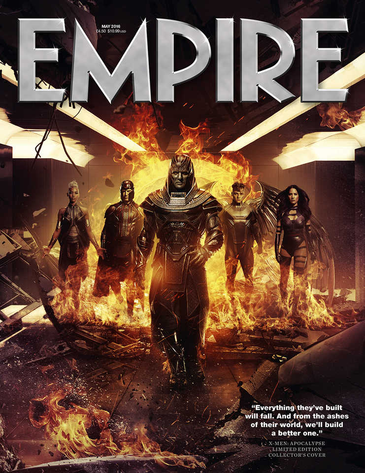 X-Men: Apocalypse - La cover della rivista Empire