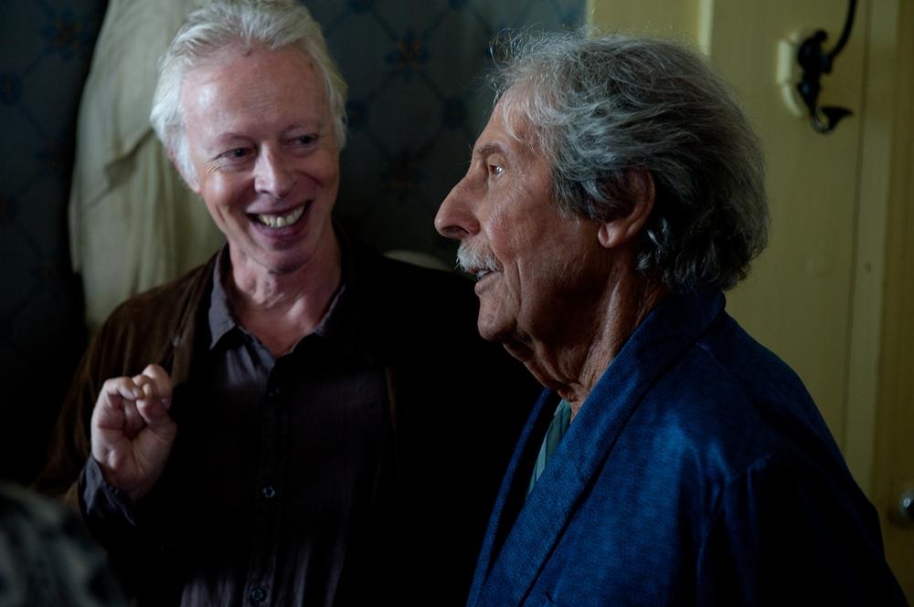 Florida: Jean Rochefort e il regista Philippe Le Guay sul set del film
