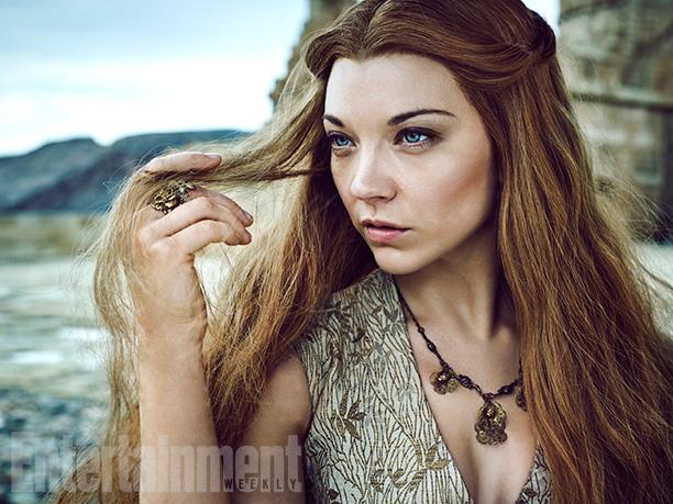 Il trono di spade: Natalie Dormer è Margaery Tyrell in un ritratto realizzato per Entertainment Weekly