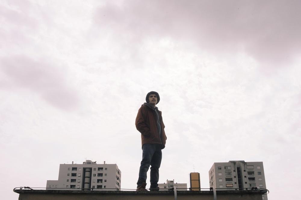 Zeta: Diego Germini in una scena del film