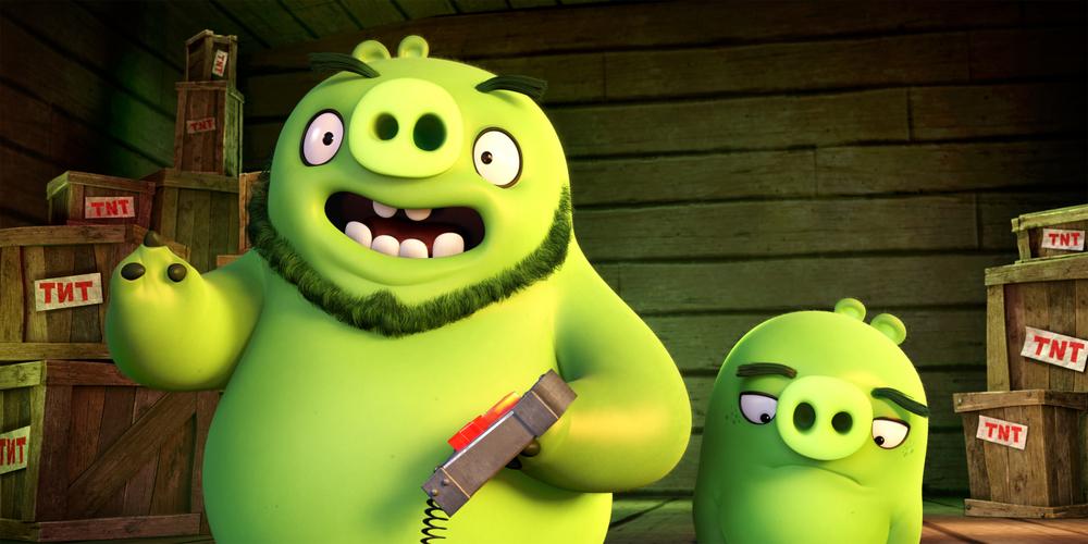 Angry Birds - Il film: un momento del film animato